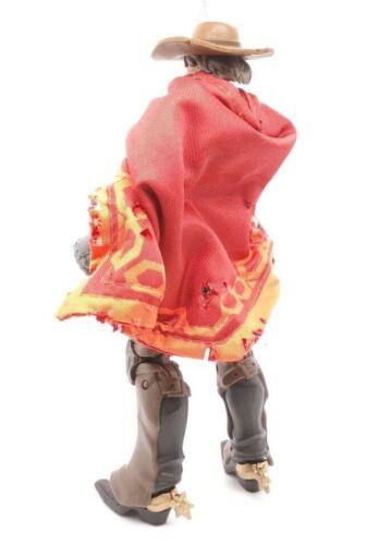 "aucune Figure Custom Rouge Filaire Poncho pour Hasbro Overwatch 6/"" McCree Su-Pon-R"