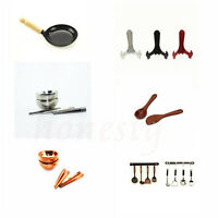 Fun Miniature Kitchen Furniature Cooking Tool Dollhouse Decoration Accessories