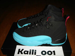 Nike Air Jordan 12 Retro (GS) Gamma Blue 153265-027 ROYAL CHICAGO ... 352ab30e6