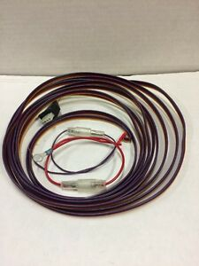 new 20 ft. universal wire harness 12v with braided wire ... wire harness bmw x5 35d