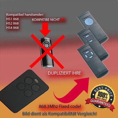 868 Mhz Hormann Hsm2 Hsp4 Hsd2-c Kompatibel Handsender Ersatz Hs1 Hsz2 Hs2 Hsm4 Garagentor Sender Fix Code Hs4 Hse2 Hsz1 Hsd2-A Hsp4 868-c