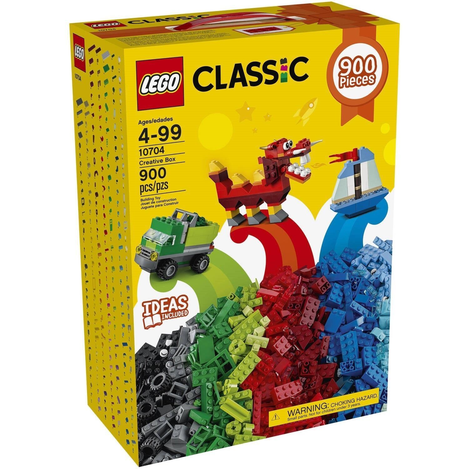 LEGO CLASSIC CREATIVE BOX 10704 NEW SEALED 900 PIECES HAVE 6 SETS AVAILABLE