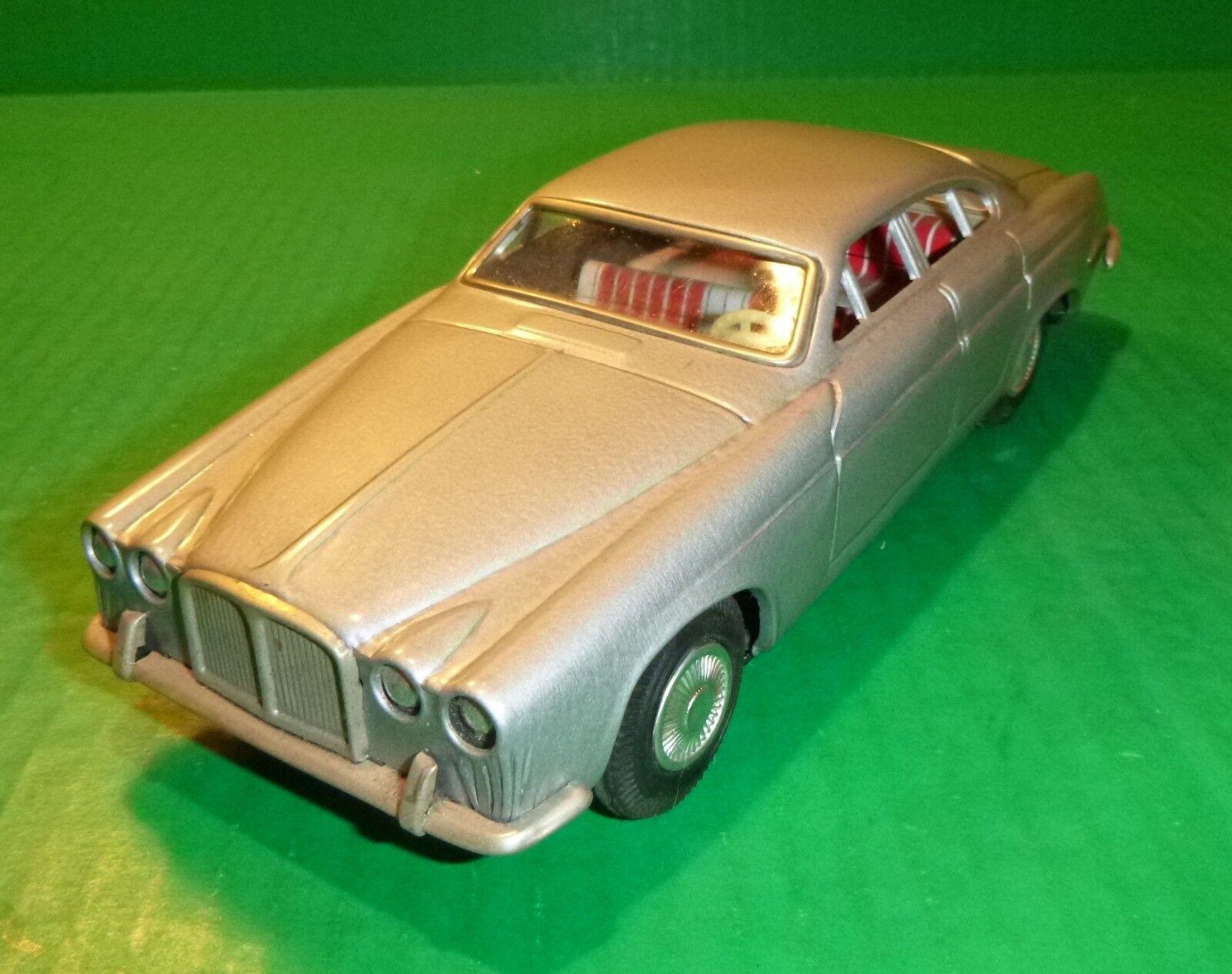 1970 Vintage Blech Litho Jaguar XJ Reibung Spielzeug Auto Taiyo Japan 24.1cm
