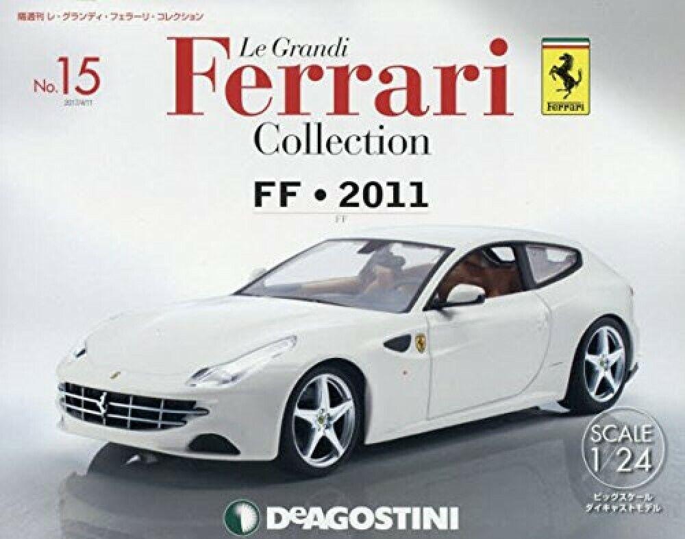 Deagostini Le Grandi Ferrari Colección N o 15 con 1 1 1 24 Japón 4f20af