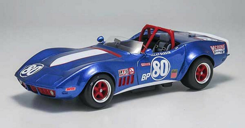 +kit Corvette C3 Spyder Barker SCCA di Bergen 1969 - Arena Models kit 1 43