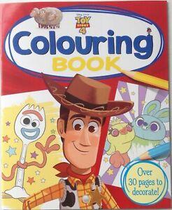 Disney-Toy-Story-4-Coloriage-Livre-Tout-Neuf-Livraison-Gratuite-Ru