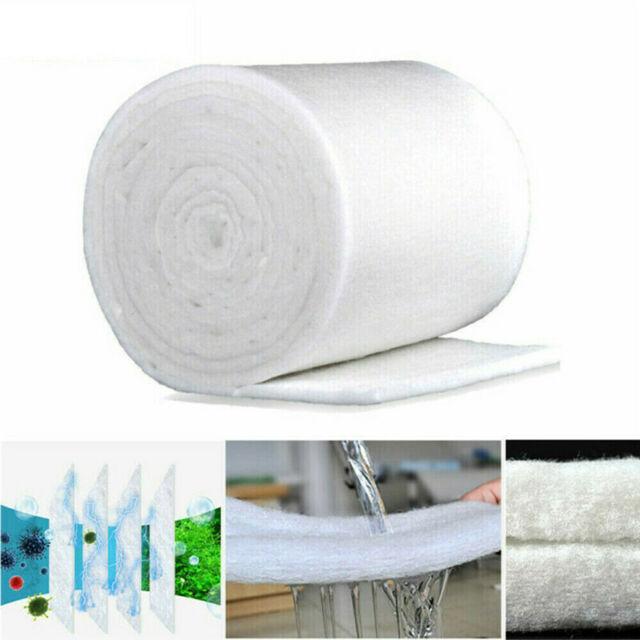 White Foam Biochemical Sponge Cotton Pad Filter Media for Aquarium Fish Tank