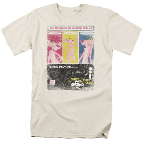 PINK PANTHER SHOT IN THE DARK Cartoon Vintage Style T-Shirt All Sizes