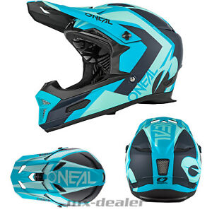 O-039-Neal-19-Fury-Rl-Hybride-Bleu-Petrole-Casque-Freeride-Vtt-Dh-Downhill-Go-Pro