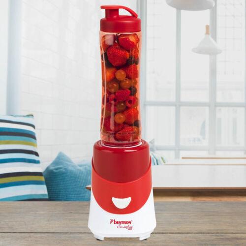Stand Smoothie Maker Trink Becher Ice Crusher Edelstahl Messer Küchen Maschine