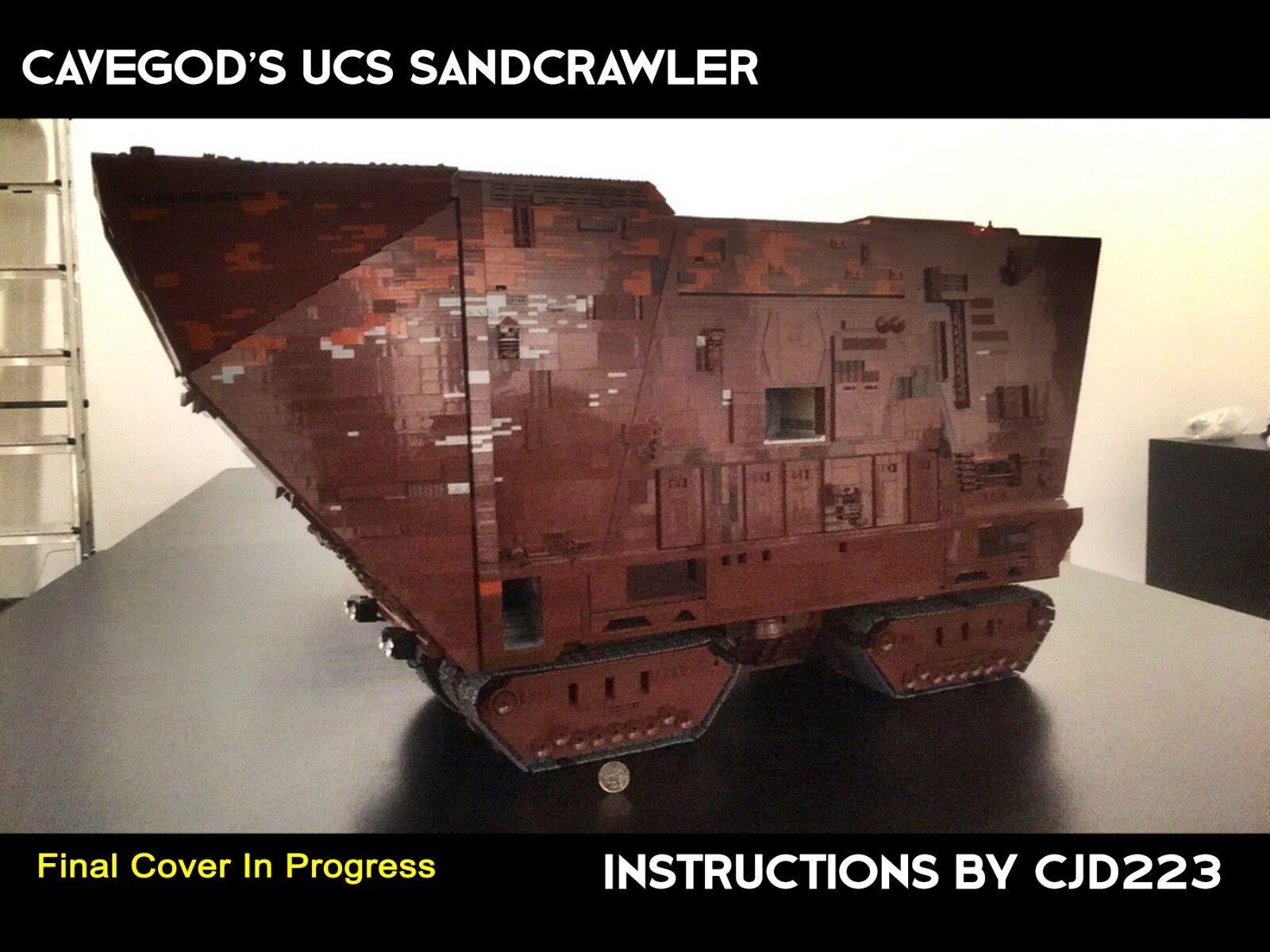 Lego CaveGott UCS Sandcrawler Instructions