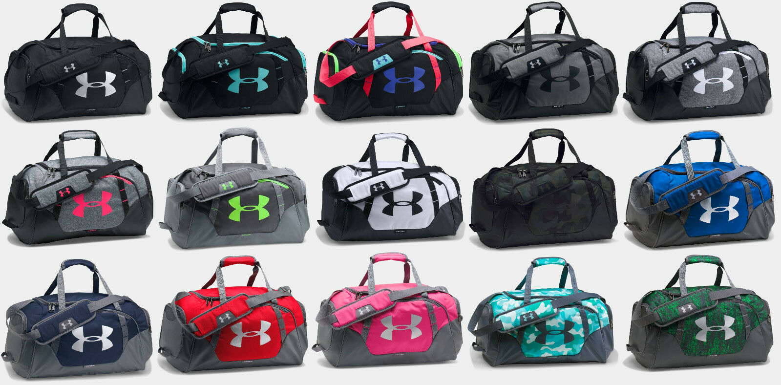 Under Armour 1300214 UA Undeniable Duffle Small Black  Silvr 001 for sale  online  1e0f7fa1c86fc
