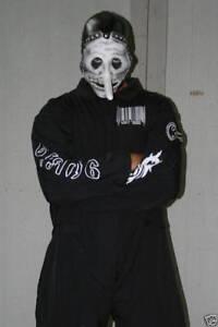 Slipknot-1st-Tour-Black-Jumpsuit-Black-amp-white-Barcode-New-You-Pick-The-Size