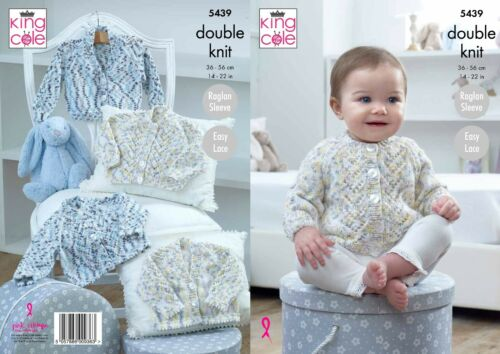 not the finished items sizes 14-22 KINGCOLE 5439 Baby DK KNITTING PATTERN