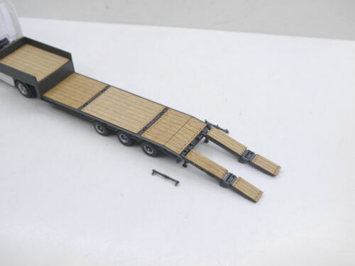1:87 EM151 Bausatz für 3achs Auflieger auf Kibri Basis Echtholz f.Umbau Eigenbau
