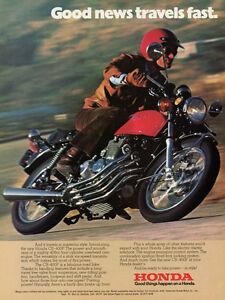 1975 HONDA CB400F VINTAGE MOTORCYCLE AD POSTER PRINT 24x18 9MIL PAPER