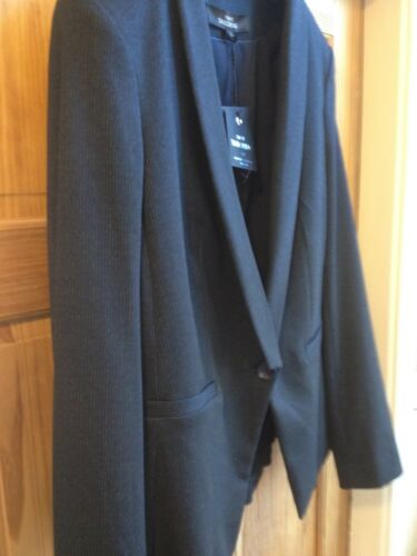 Next 10 Tagged £ Style new uk En Jacket 35 rrp navy Tailoring £ Blazer 45 OrwqCY1r