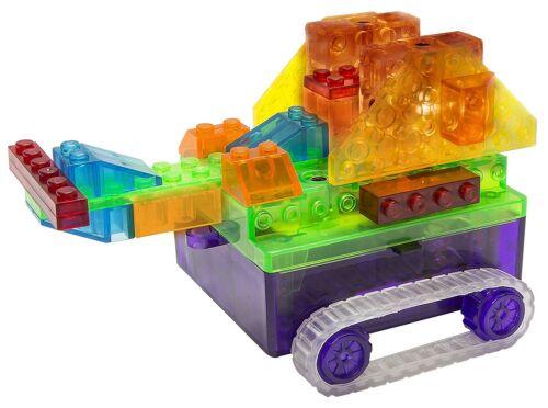 Laser Pegs 8-in-1 Runner Tank Construction Kids Playset Toy Set
