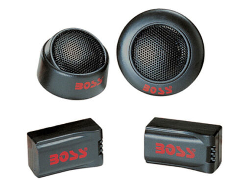 "Pair Boss TW15 1/"" 200 Watt Super Polymer Micro-Dome Car Audio Tweeters"