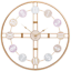 EXTRA-LARGE-ROMAN-NUMERALS-SKELETON-WALL-CLOCK-40-60CM-BIG-GIANT-OPEN-FACE-ROUND miniatura 81