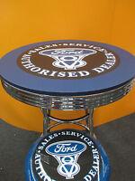 Ford V8 Bar Table Only - Retro Design