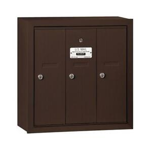 Image Is Loading 3 Door Apartment Mailbox Commercial Multi Family Locking