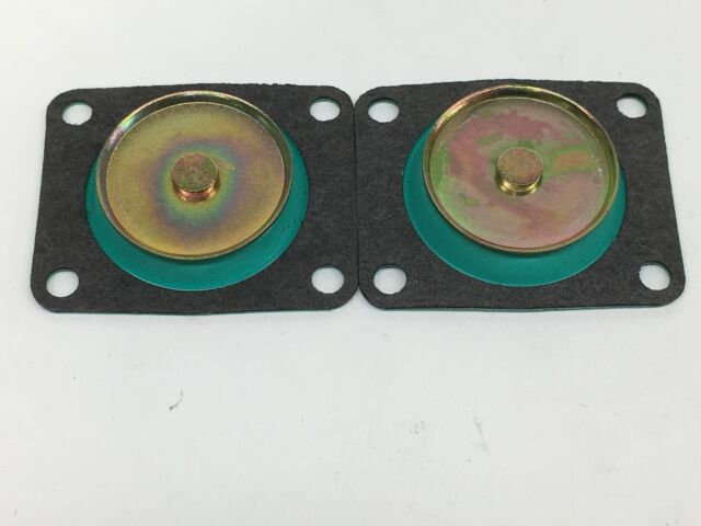 Holley 30cc 50cc CARBURETOR ACCELERATOR PUMP DIAPHRAGM GFLT 4 PACK TWO EACH