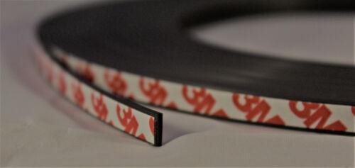 20m Magnetband selbstklebend mit 3M 9088-2 Industrie-Klebeband/_8mm x 1,5mm