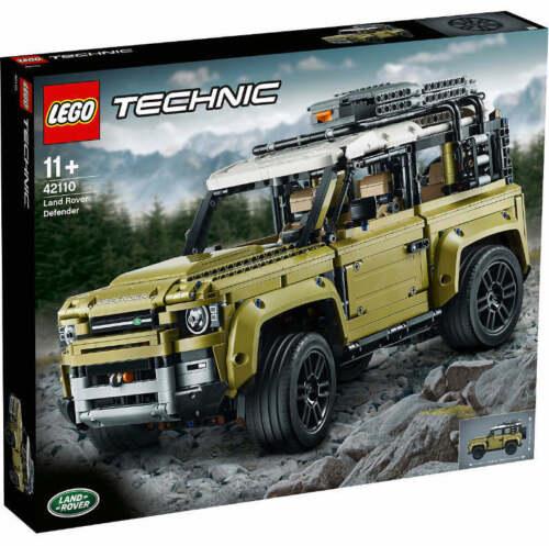 NUOVO /& OVP LEGO ® Technic 42110 Land Rover Defender in verde oliva grigio e nero