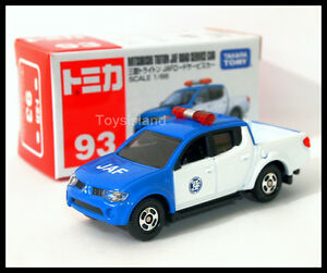 TOMICA-93-MITSUBISHI-TRITON-JAF-ROAD-SERVICE-CAR-1-66-TOMY-DIECAST-CAR