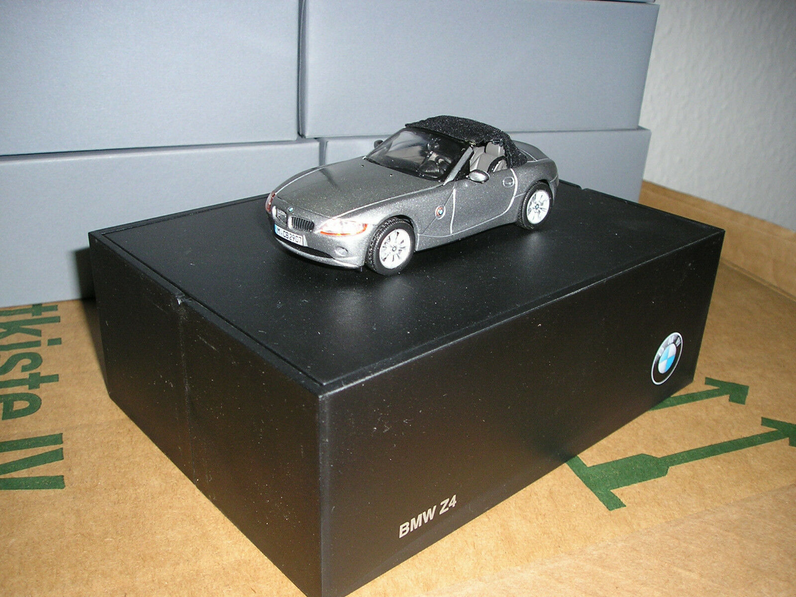 12x bmw z4 e85 modelo coches Sterling gris, m 1 43 norev