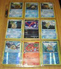 Pokemon Card/Tarjeta: 8 Feebus and 1 Milotic Card Set