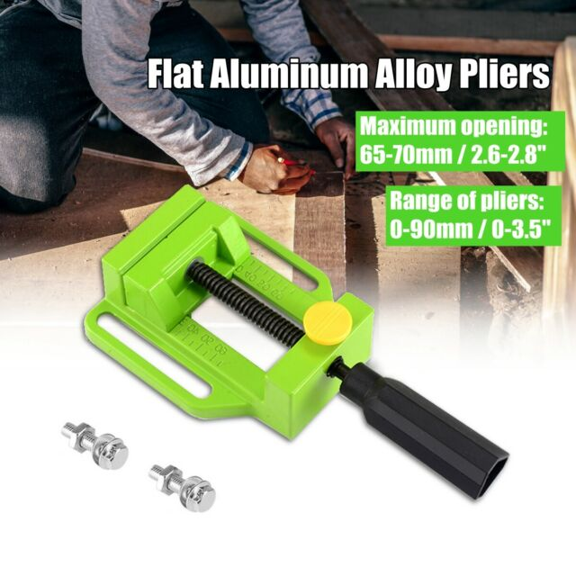 """2.8""""70mm Small Drill Press Vice Bench Clamp Woodworking Vise Drilling Machine AU"""