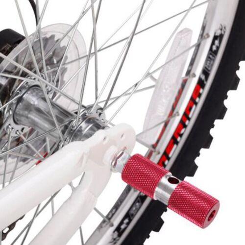 2Pcs DUUTI HJT-101 Bicycle Axle Foot Pegs Stunt Pedal Bike Balance Foot Stand AZ