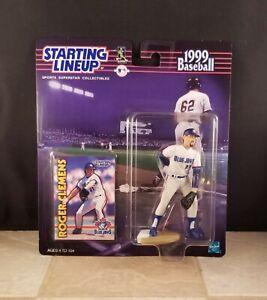 STARTING LINEUP 1999 MLB ROGER CLEMENS FIGURE TORONTO BLUE JAYS SLU NEW