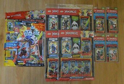 display Tin Starter pack serie 4: blister Lego Ninjago trading card multi pack