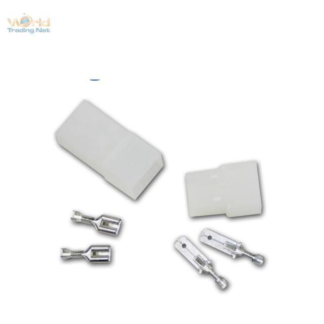1 Paar Steckverbinder 2-polig Mehrfachsteckverbinder Stecker & Buchse/Kupplung