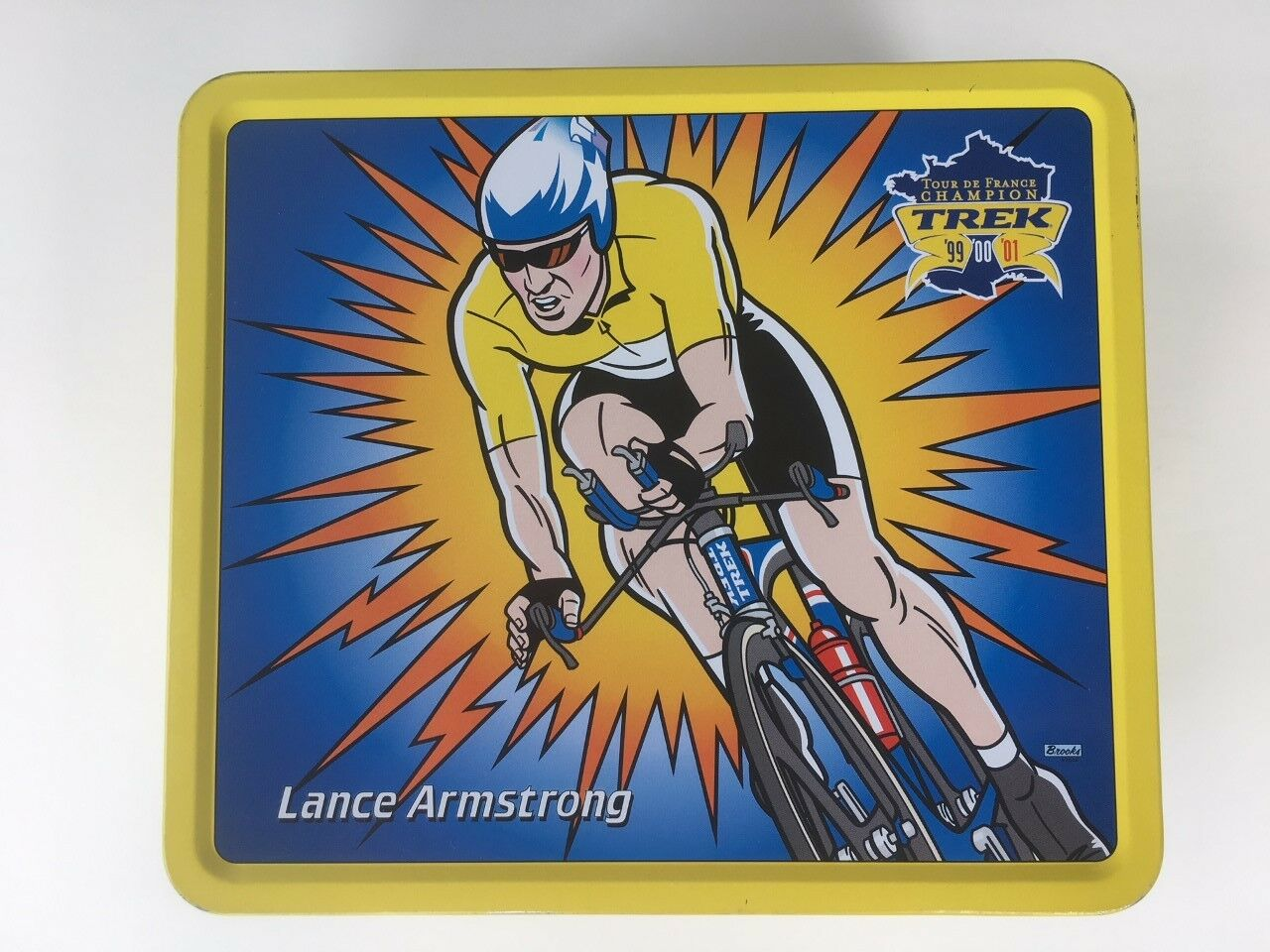 Lance Armstrong Champion Signature Trek Lunch scatola Collectible nuovo
