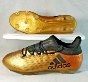 Adidas Gold Cleats Red Black 17 C158 X Fg Core Solar Soccer 2 Metallic Mens 10 iPuOkXZ