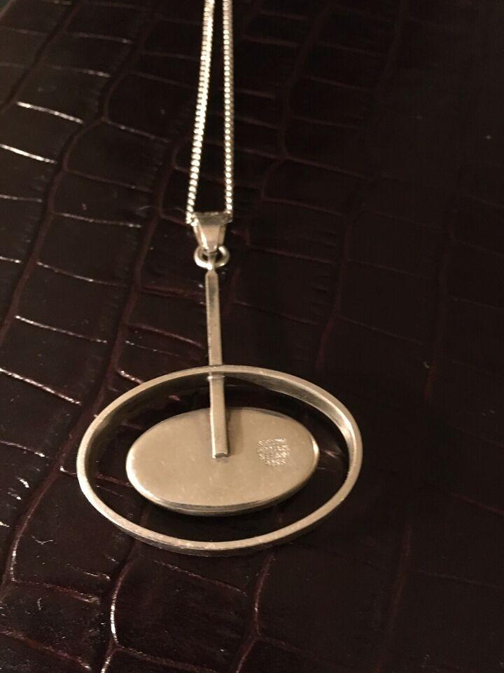 Vedhæng, sølv, N.E. From