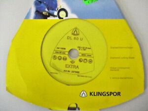 KLINGSPOR Diamanttrennscheibe DL 60 U 230x22, 23  227939  Beton Ziegel  (CO36)