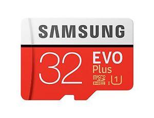 MicroSDHC-32GB-Samsung-EVO-Plus-95MB-s-lesen-20MB-schreiben-Speicherkarte-sm-GR