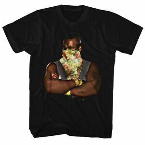 Mr-T-Flower-Black-T-Shirt