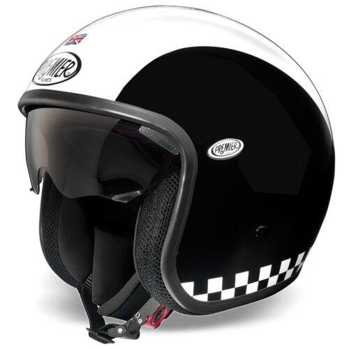 PREMIER VINTAGE RETRO TRI COMPOSITE SCOOTER CRUISER BIKE MOTORCYCLE HELMET