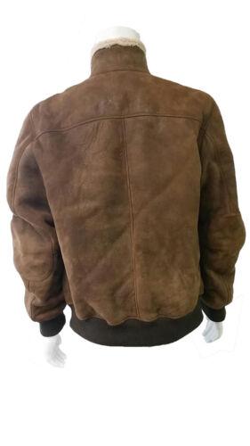 hombre Jacket Medium Tuzzi Bomber Tobacco 1399 Shearling Tmc252412 dnwaUw