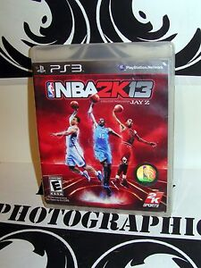 2KSports NBA 2K13 Game for Sony Playstation Jay Z 3 PS3 2013 Tested Used VG / EX 8170775431896