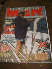 La pêche en mer N°55 Granville Chausey Sars d'hiver Marlins rayés Moulinet