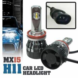 1-set-MX15-H11-Car-LED-Headlight-Driving-Light-Bulbs-Hi-Lo-Beam-White-6000K