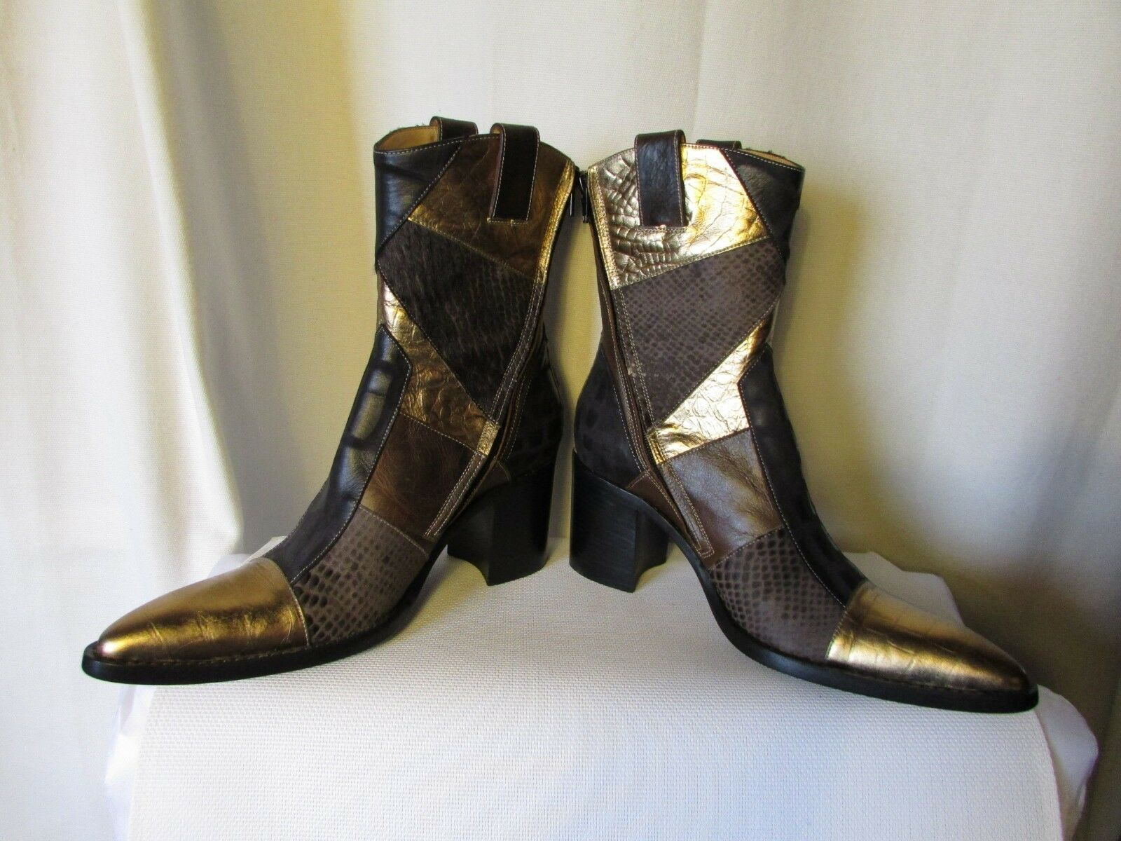 Boots free lance missouri 7 patchzipboo multicoloured leather size 39,5 39,5 39,5 345711