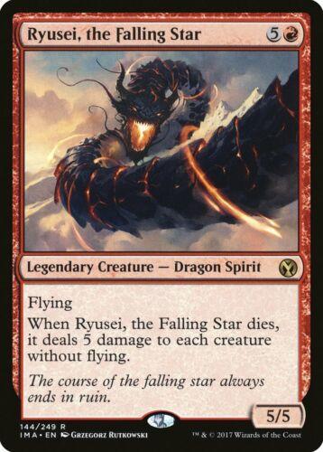 the Falling Star Iconic Masters NM Red Rare MAGIC MTG CARD ABUGames Ryusei